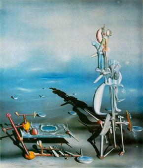 Surrealistic art can be reassuring when contemplating your mortality