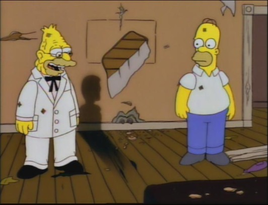 homer radiation