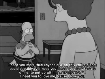 homer with marge