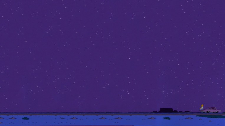 homer with stars