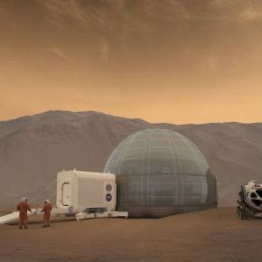 Ice-homes could shelter our first Martian pioneers